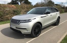Range Rover Velar, front