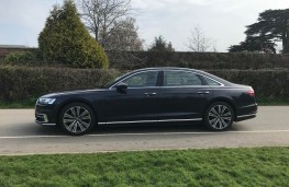 Audi A8L, side