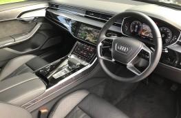Audi A8L, interior