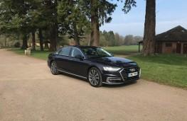 Audi A8L, front