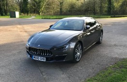 Maserati Ghibli, front