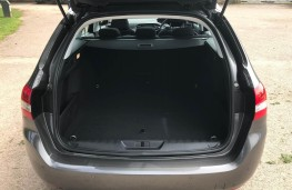 Peugeot 308 SW, boot