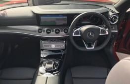 Mercedes-Benz E-Class Cabriolet, interior