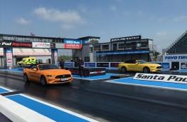 Ford Mustang, racing