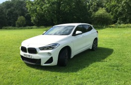 BMW X2 xDrive, front