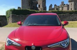 Alfa Romeo Stelvio, front
