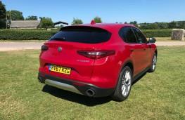 Alfa Romeo Stelvio, rear