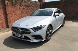 Mercedes CLS, front