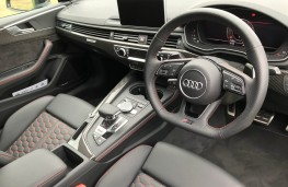 Audi RS5 Coupe, interior
