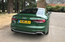 Audi RS5 Coupe, rear