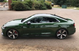 Audi RS5 Coupe, side
