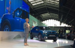 Linda Jackson, Citroen chief executive, Citroen C4 Cactus reveal