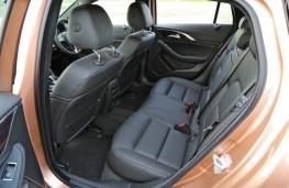 Infiniti Q30, 2016, rear seats