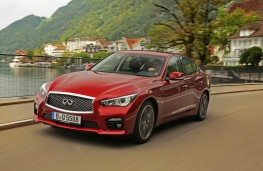 Infiniti Q50, front action