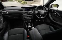 Infiniti QX30, interior