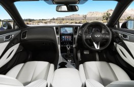 Infiniti Q60, interior