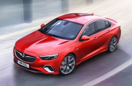 Vauxhall Insignia GSi, 2017, front
