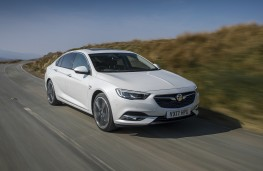 Vauxhall Insignia Grand Sport, 2017, front, action