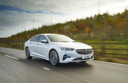 Vauxhall Insignia, 2021, front, action