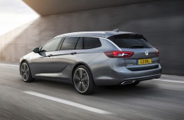 Vauxhall Insignia Sports Tourer, 2017, rear