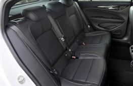 Vauxhall Insignia, 2021, rear seats
