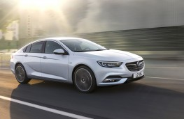 Vauxhall Insignia Grand Sport, 2017, side, action