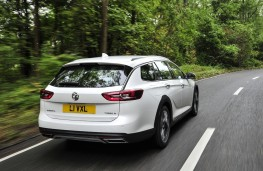 Vauxhall Insignia Country Tourer, 2017, rear, action