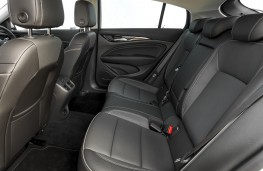 Vauxhall Insignia Grand Sport, 2017, rear seats