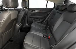 Vauxhall Insignia Grand Sport, 2017, rear seats