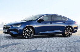 Vauxhall Insignia, 2020, side
