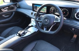 Mercedes E-Class Estate, interior