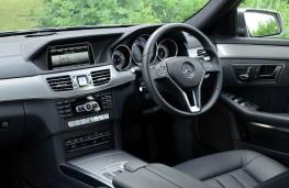 Mercedes E Class, interior