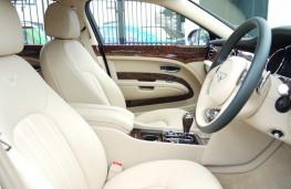 Bentley Mulsanne, Queen's former car, interior