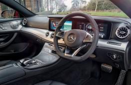 Mercedes-Benz E-Class Coupe, 2017, interior