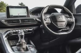 Peugeot 3008, 2018, interior, manual