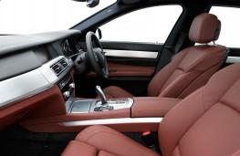 BMW 7 Series, 2009, interior