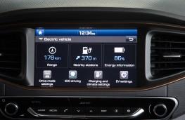 Hyundai Ioniq EV, display screen