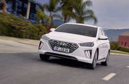 Hyundai Ioniq hybrid, 2019, front