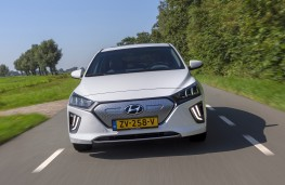 Hyundai Ioniq Electric, 2019, nose