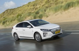 Hyundai Ioniq Electric, 2019, side