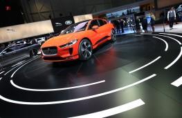 Jaguar I-PACE, 2018, reveal