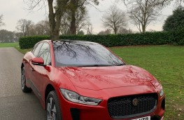Jaguar I-PACE, 2018, nose, upright