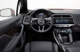 Jaguar I-PACE, 2018, interior
