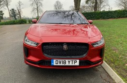 Jaguar I-PACE, 2018, nose 1
