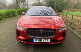 Jaguar I-PACE, 2018, nose