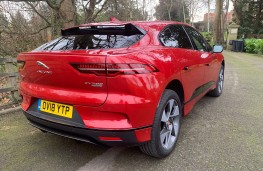 Jaguar I-PACE, 2018, rear