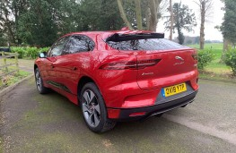 Jaguar I-PACE, 2018, rear, static