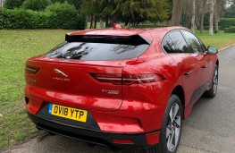 Jaguar I-PACE, 2018, rear, upright