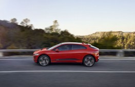 Jaguar I-PACE, 2018, side