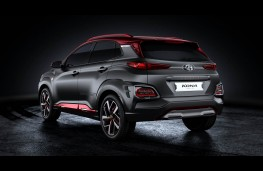 Hyundai Kona Iron Man Edition, rear